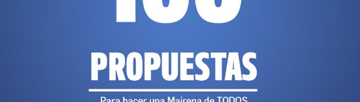 100 propuestas adelante mairena
