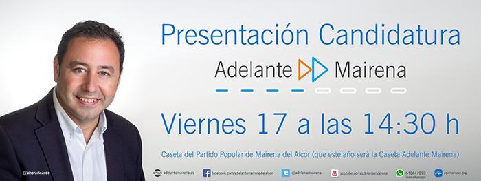 Ricardo Sánchez Adelante Mairena feria