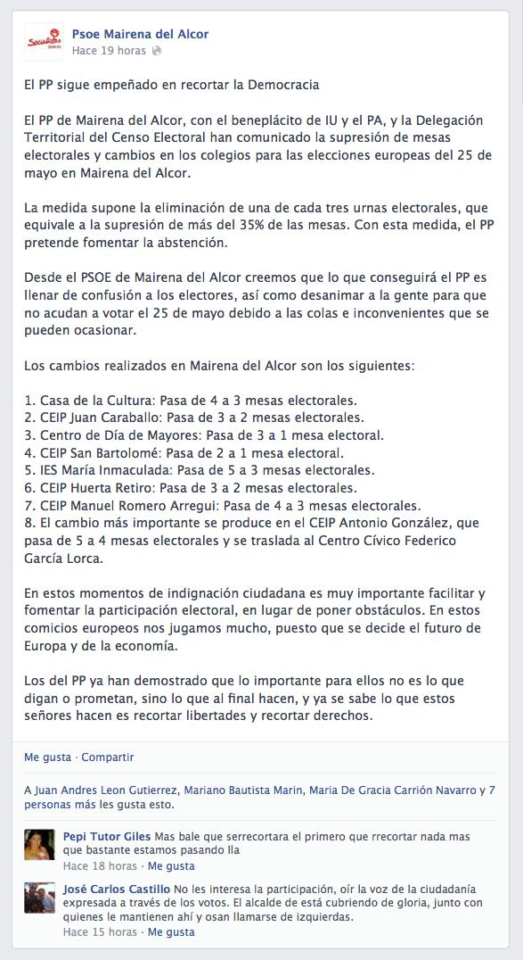 Mentira PSOE mesas electorales 25M 2014-05-06 a las 12.57.49