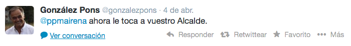 Tuit González Pons anuncio Ricardo_700