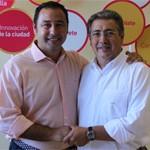 Juan Ignacio Zoido junto a Ricardo Sánchez el pasado mes de mayo.