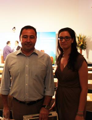 Ricardo Sánchez y Gloria Guillén, en La Junta Directiva Regional del PP-A
